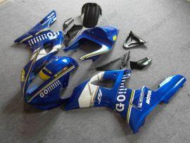 Yamaha YZF-R1 2000-2001 Carénage ABS Injection Race - GO!!!!! - bleu/blanc
