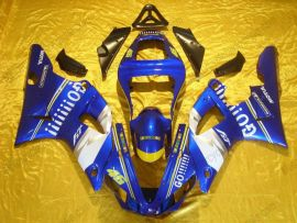 Yamaha YZF-R1 2000-2001 Carénage ABS Injection - GO!!!!! - bleu/blanc