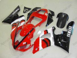 Yamaha YZF-R1 2000-2001 Carénage ABS Injection - autres - rouge/noir/blanc