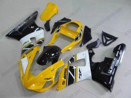 Yamaha YZF-R1 2000-2001 Carénage ABS Injection - autres - jaune/noir/blanc