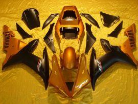 Yamaha YZF-R1 2002-2003 Carénage ABS Injection - autres - noir/doré