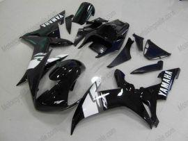 Yamaha YZF-R1 2002-2003 Carénage ABS Injection Race - autres - noir/blanc