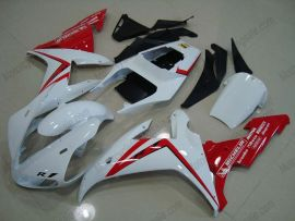 Yamaha YZF-R1 2002-2003 Carénage ABS Injection - autres - blanc/rouge