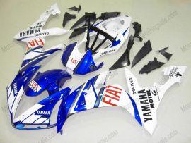Yamaha YZF-R1 2004-2006 Carénage ABS Injection - FIAT - blanc/bleu