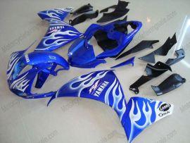 Yamaha YZF-R1 2009-2011 Carénage ABS Injection - Flame - bleu/blanc