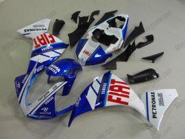Yamaha YZF-R1 2009-2011 Carénage ABS Injection - FIAT - bleu/blanc