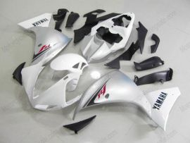 Yamaha YZF-R1 2009-2011 Carénage ABS Injection - autres - blanc/argent
