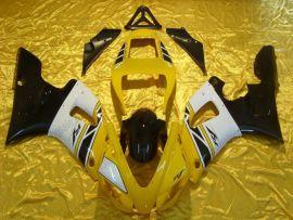 Yamaha YZF-R1 1998-1999 Carénage ABS Injection - autres - jaune/noir/blanc(sans logo Yamaha)