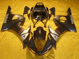 Yamaha YZF-R6 2003-2004 Carénage ABS Injection - autres - noir/argent