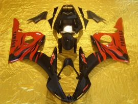 Yamaha YZF-R6 2003-2004 Carénage ABS Injection - autres - rouge/noir