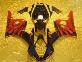 Yamaha YZF-R6 2005 Carénage ABS Injection - autres - rouge/noir
