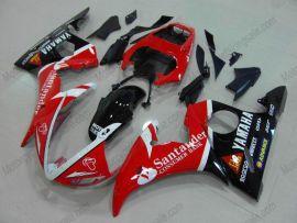 Yamaha YZF-R6 2005 Carénage ABS Injection - Santander - rouge/noir