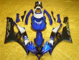 Yamaha YZF-R6 2006-2007 Carénage ABS Injection - Motul - bleu/noir/blanc