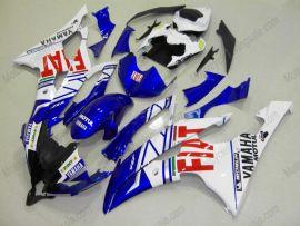 Yamaha YZF-R6 2008-2014 Carénage ABS Injection - FIAT - bleu/blanc