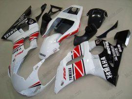 Yamaha YZF-R6 1998-2002 Carénage ABS Injection - autres - blanc/rouge/noir