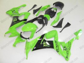 Kawasaki NINJA ZX10R 2008-2010 Carénage ABS Injection - Monster - vert/noir
