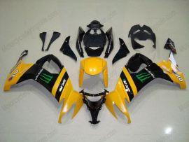 Kawasaki NINJA ZX10R 2008-2010 Carénage ABS Injection - Monster - jaune/noir