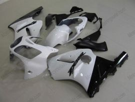 Kawasaki NINJA ZX12R 2000-2001 Carénage ABS - autres - blanc/noir