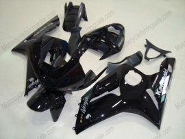 Kawasaki NINJA ZX6R 2003-2004 Carénage ABS Injection - autres - tout noir