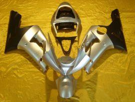 Kawasaki NINJA ZX6R 2003-2004 Carénage ABS Injection - autres - argent/noir