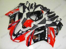 Kawasaki NINJA ZX6R 2007-2008 Carénage ABS Injection - Monster - rouge/noir