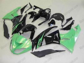 Kawasaki NINJA ZX6R 2009-2012 Carénage ABS Injection - autres - vert/noir
