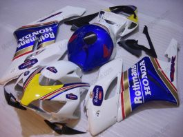 Honda CBR1000RR 2004-2005 Carénage ABS Injection - Rothmans - blanc/bleu