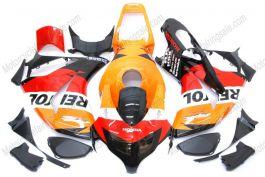 Honda CBR1000RR 2008-2011 Carénage ABS Injection - Repsol - orange/noir/rouge