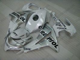 Honda CBR1000RR 2008-2011 Carénage ABS Injection - Repsol - argent/blanc