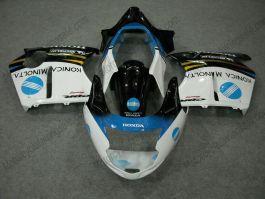 Honda CBR 1100XX BLACKBIRD 1996-2007 Carénage ABS Injection - autres - noir/blanc