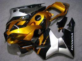 Honda CBR 600RR F5 2003-2004 Carénage ABS Injection - autres - doré/noir/argent