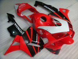 Honda CBR 600RR F5 2003-2004 Carénage ABS Injection - autres - rouge/noir/blanc