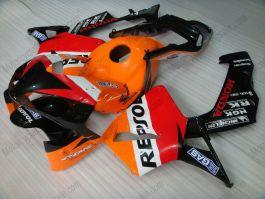 Honda CBR 600RR F5 2003-2004 Carénage ABS Injection - Repsol - orange/noir/rouge