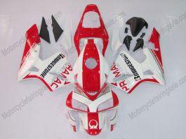 Honda CBR 600RR F5 2003-2004 Carénage ABS Injection - PRAMAC - rouge/blanc