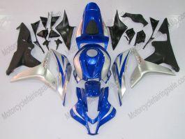 Honda CBR 600RR F5 2007-2008 Carénage ABS Injection - Factory Style  - noir/bleu/argent