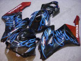 Honda CBR1000RR 2004-2005 Carénage ABS Injection - Flame bleu - noir/brun