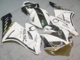 Honda CBR1000RR 2004-2005 Carénage ABS Injection - PRAMAC - blanc/noir