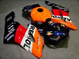 Honda CBR1000RR 2004-2005 Carénage ABS Injection - Repsol - orange/noir