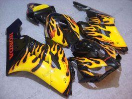 Honda CBR1000RR 2004-2005 Carénage ABS Injection - Flame jaune - noir