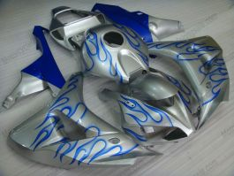 Honda CBR1000RR 2006-2007 Carénage ABS Injection - Flame bleu - argent