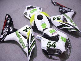 Honda CBR1000RR 2006-2007 Carénage ABS Injection - HANN Spree - blanc/noir/vert