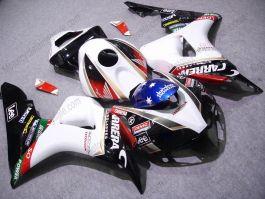 Honda CBR1000RR 2006-2007 Carénage ABS Injection - Lee - blanc/noir/rouge