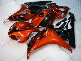 Honda CBR1000RR 2006-2007 Carénage ABS Injection - Fireblade - orange/noir