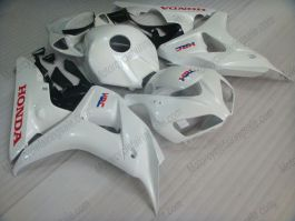 Honda CBR1000RR 2006-2007 Carénage ABS Injection - autres - blanc