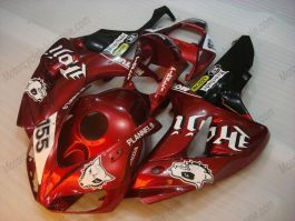 Honda CBR1000RR 2006-2007 Carénage ABS Injection - PIRELLI - rouge