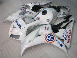 Honda CBR1000RR 2006-2007 Carénage ABS Injection - R - blanc