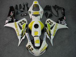 Honda CBR1000RR 2006-2007 Carénage ABS Injection - HANN Spree - blanc/jaune