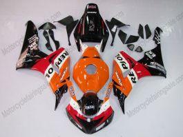 Honda CBR1000RR 2006-2007 Carénage ABS Injection - Repsol - orange/noir/rouge
