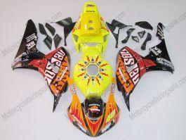 Honda CBR1000RR 2006-2007 Carénage ABS Injection - Repsol - orange/noir/jaune