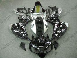 Honda CBR1000RR 2006-2007 Carénage ABS Injection - SevenStars - noir/blanc